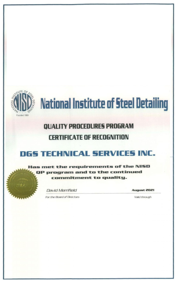 Quality Procedure Program-NISD