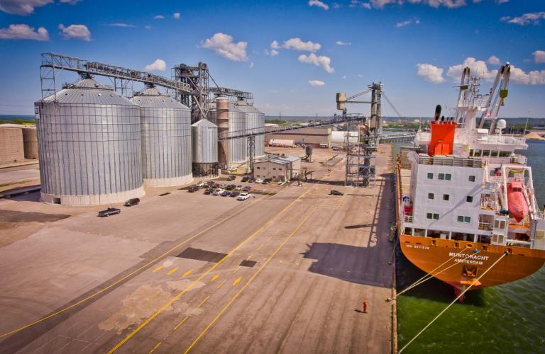 Export Grain Terminal BC-