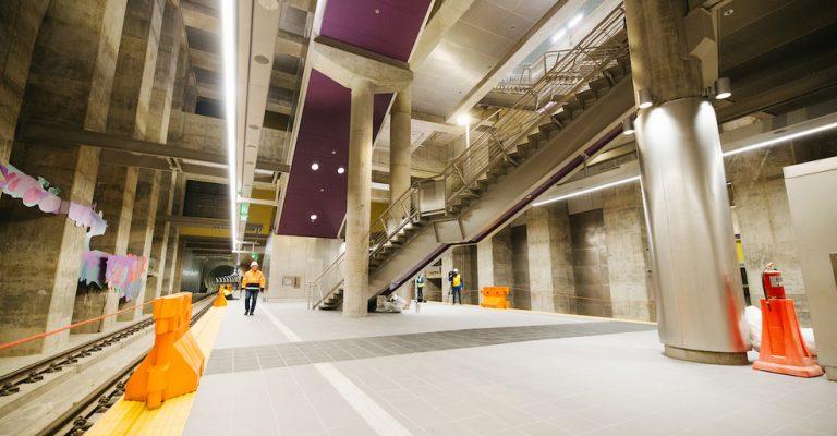 Roosevelt Station Finishes - 220 Tons